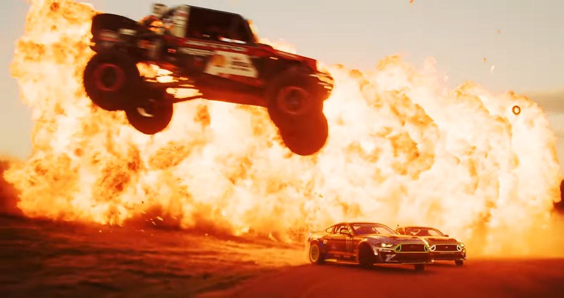 BOMB TRACK 750 Acres NO RULES 1 Video: BOMB TRACK   750+ Acres, NO RULES!! Vaughn Gittin Jr. on Tour!