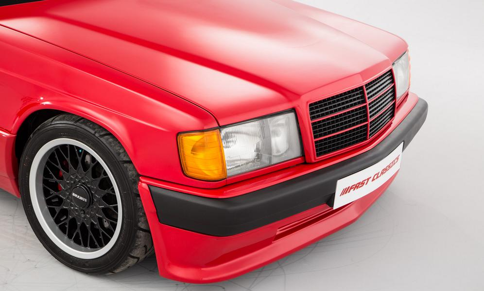 Brabus 3.6S Lightweight Mercedes 190 E W201 Tuning 6 Brabus 3.6S Lightweight Mercedes 190 E wird verkauft!