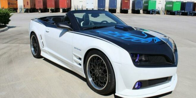 "Chevrolet Camaro with transformation to Pontiac Trans Am ""Banshee""!"
