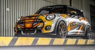 Electric MINI JCW outfit Dragoon rims on the OCTANEFACTORY Cooper SE Header 310x165 Cupra Ateca on 21 inch Corspeed Deville alloy rims!