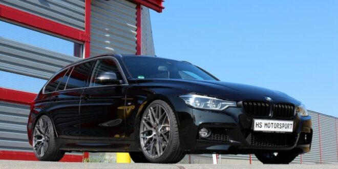 HS Motorsport BMW 340i Touring (F31) with M3 performance!