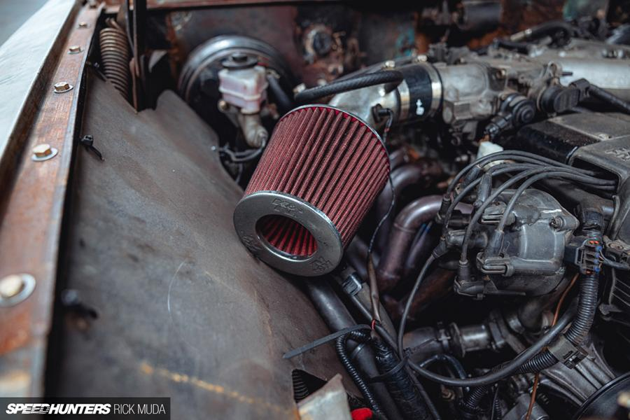 Holden Commodore EJ Wagon 2JZ Engine Swap Ratte 19 Holden EJ Special Station Wagon mit 2JZ Engine Swap!