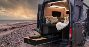 Loefs 2021 Camper MAN TGE VW Crafter 7 310x165 Rollendes Hochhaus: Maxus Life Home V90 Villa Edition!