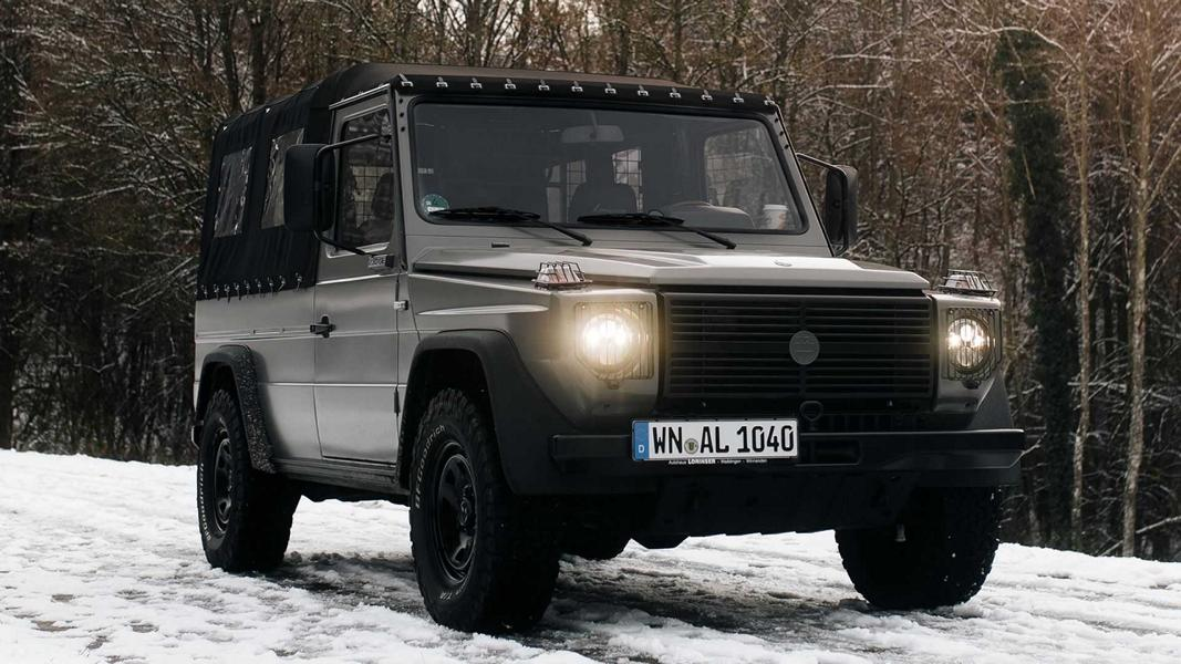 Lorinser Classic Motortuning Mercedes Puch G 4 Lorinser Classic Motortuning am alten Mercedes/Puch G!