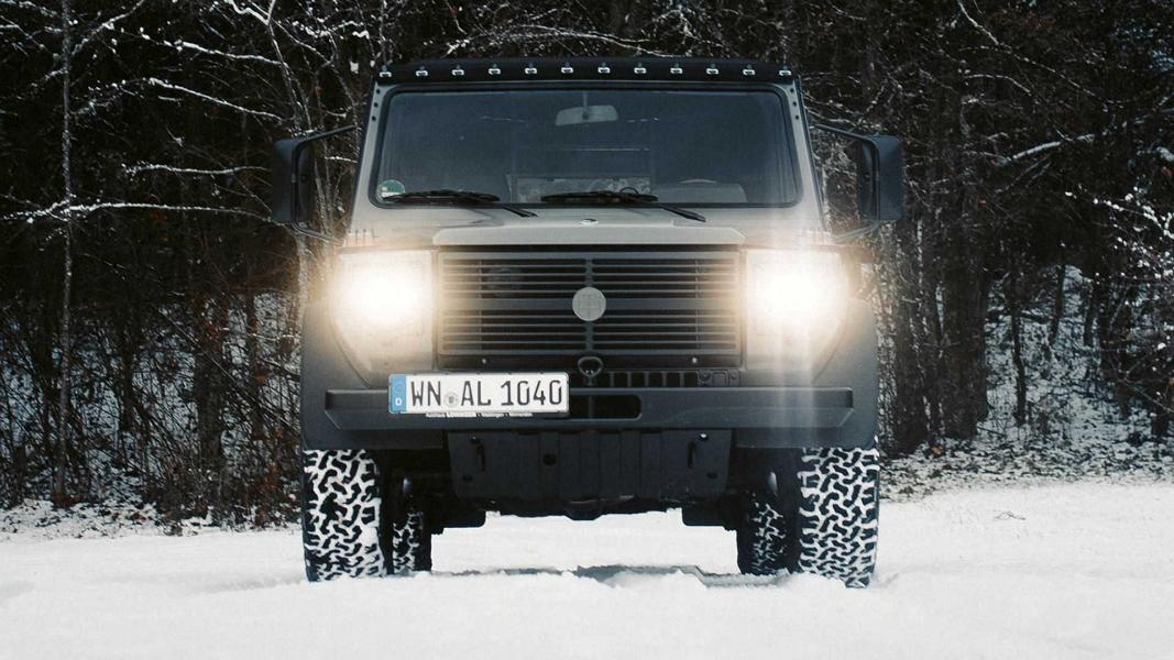 Lorinser Classic Motortuning Mercedes Puch G 5 Lorinser Classic Motortuning am alten Mercedes/Puch G!