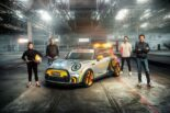 MINI Electric Pacesetter inspired JCW Formel E 21 155x103 FIA Formula E Safety Car: MINI Electric Pacesetter inspired by JCW!