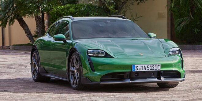 Porsche Taycan Cross Turismo: The electric all-rounder!
