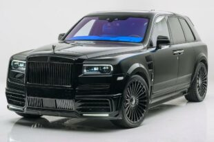 Rolls Royce Cullinan from tuner Mansory Head 310x205 black & blue: Rolls Royce Cullinan from tuner Mansory!
