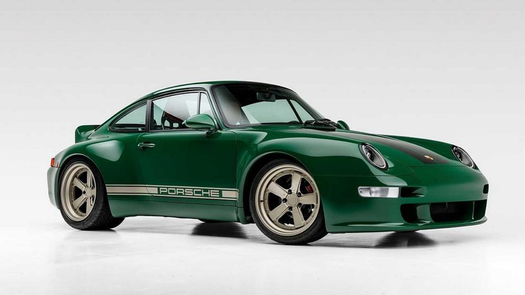 The Irish Green Commission Porsche 911 996 Gunther Werks Porsche 911 (993) von Gunther Werks in Irish Green!