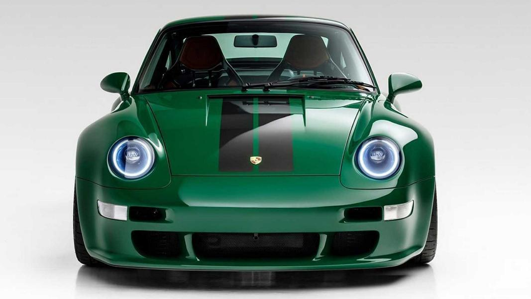 The Irish Green Commission Porsche 911 999 Gunther Werks Porsche 911 (993) von Gunther Werks in Irish Green!