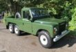Townley Six LR V8 Land Rover Defender 6x6 Pickup 5 110x75 Land Rover Defender als 6x6 Pickup? Gab es schon 1981!