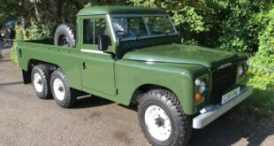 Townley Six LR V8 Land Rover Defender 6x6 Pickup 5 310x165 Land Rover Defender als 6x6 Pickup? Gab es schon 1981!