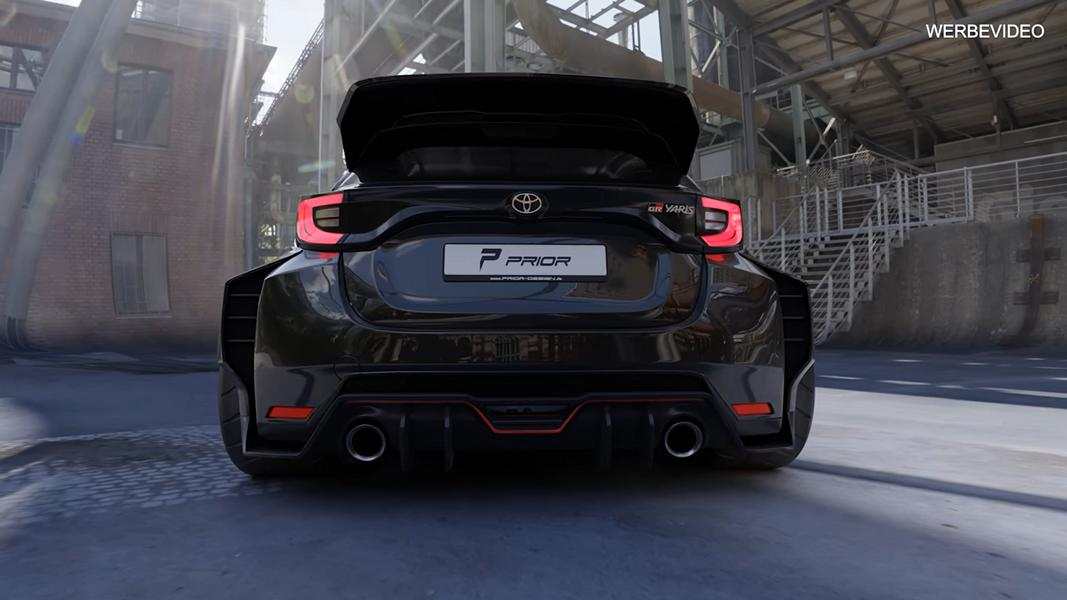 Toyota Yaris Widebody Tuner Prior Design Tuning 2021 12 Vorschau: Toyota Yaris Widebody vom Tuner Prior Design!