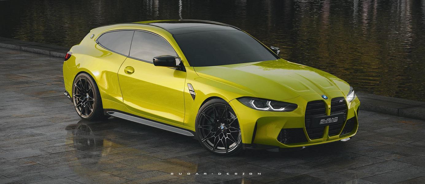 bmw m4 shooting Tuning G82 6 Vorschau: BMW M3 Touring & M4 Shooting Brake 2022!