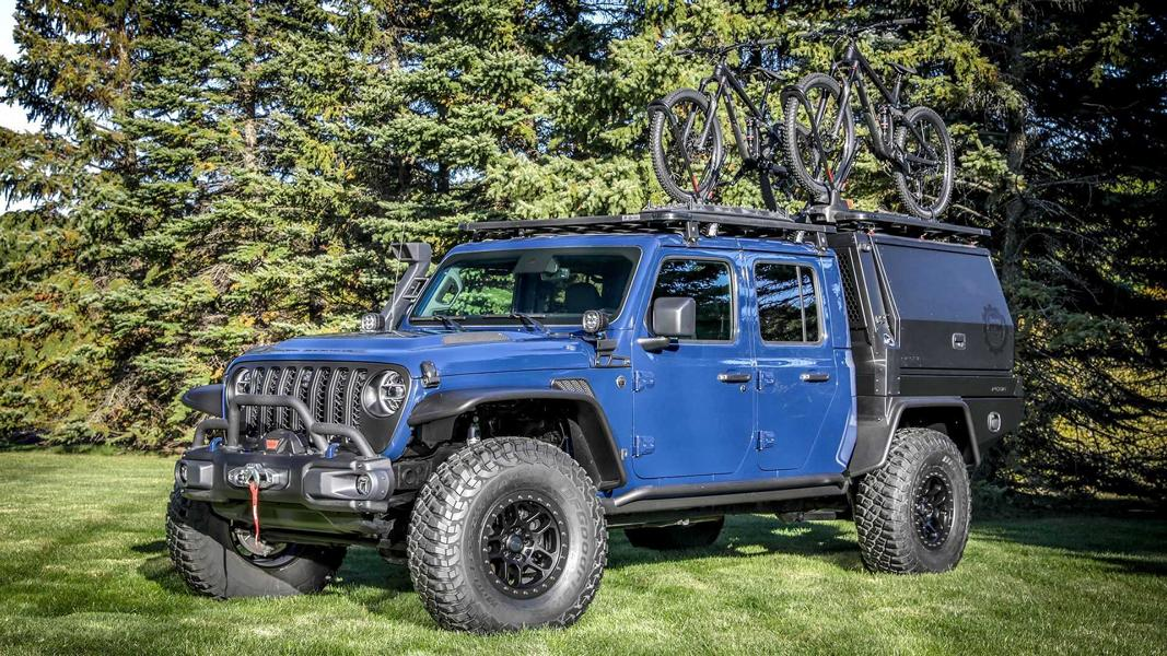 jeep gladiator top dog concept tuning 2 Coole Offroad Konzepte von Jeep: Easter Jeep Safari 2021!