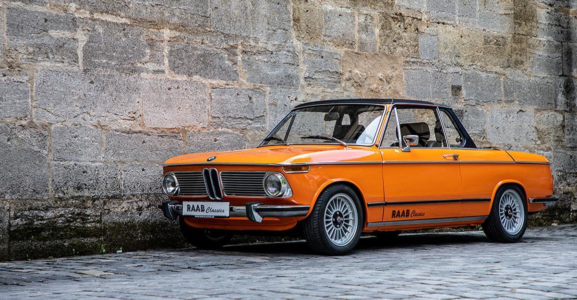 low BMW 2002 Cabriolet Raab Classics Fahrwerk made by KW 001 Tuning von Oldtimern: Alles was Sie darüber wissen müssen!