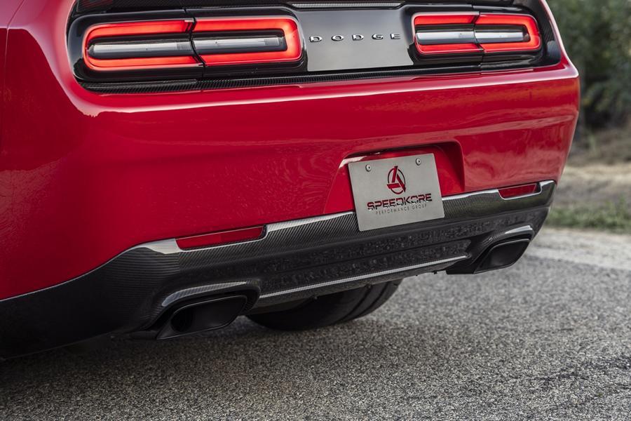 2021 Dodge Challenger Demon Carbon Bodykit SpeedKore Tuning 21 Dodge Challenger Demon mit Carbon Bodykit von SpeedKore!