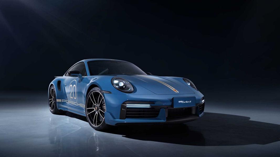911 Turbo S Porsche China 20th Anniversary Edition 1 Porsche 911 Turbo S (992) Anniversary Edition für China!