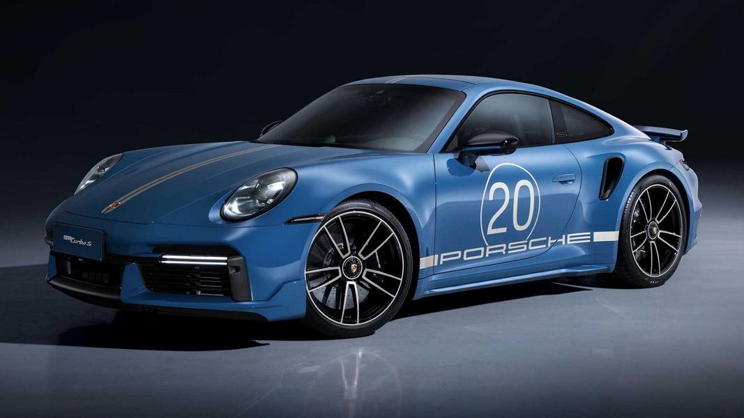911 Turbo S Porsche China 20th Anniversary Edition 9 Porsche 911 Turbo S (992) Anniversary Edition für China!