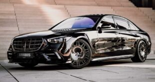 BRABUS Mercedes S Class W 223 Tuning Header 310x165 Mercedes CLS Shooting Brake with Bodykit & Airride!