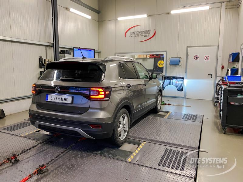 DTE Systems Chiptuning VW T Cross 1.0 TSI 1 4 DTE Systems Chiptuning am kleinen VW T Cross 1.0 TSI!