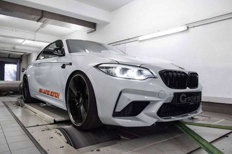 F87 G Power G2M Limited Edition BMW M2 Tuning 1 Streng limitiert: G Power BMW G2M Coupe mit 550 PS!