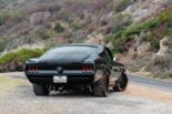 """Ford Mustang The Black Death Restomod Tuning 20 155x103 Monster Mustang: """"The Black Death"""" Restomod mit 800 PS!"""