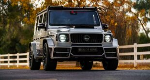 Keyvany Hermes Mercedes AMG G63 W463A Creative Bespoke Header 310x165 Video: Batmobil Replika auf Mustang Basis mit Chevy V8!