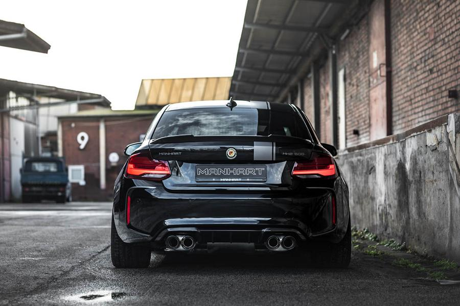 MANHART Performance MH2 500 BMW M2 Competition 8 Limitierter Power Zweier: MANHART Performance MH2 500!