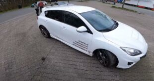 Mazda 3 MPS Speed3 Tuning Autobahn 2 310x165 Video: 562 PS und Frontantrieb im Mazda 3 MPS (Speed3)