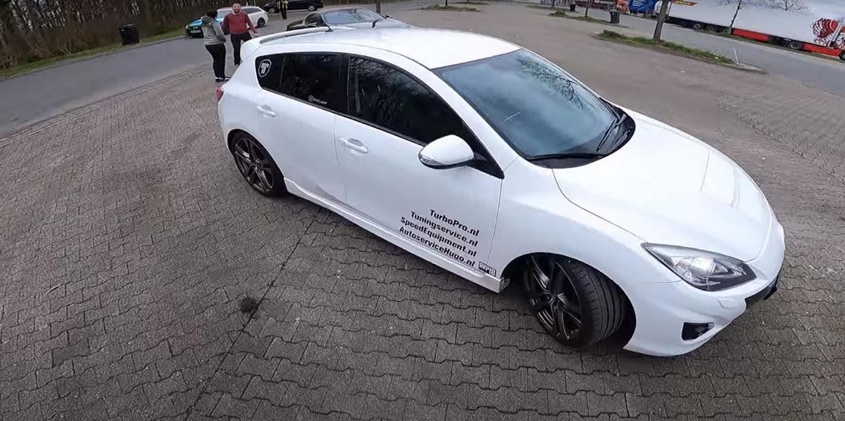 Mazda 3 MPS Speed3 Tuning Autobahn 2 Video: 562 PS und Frontantrieb im Mazda 3 MPS (Speed3)