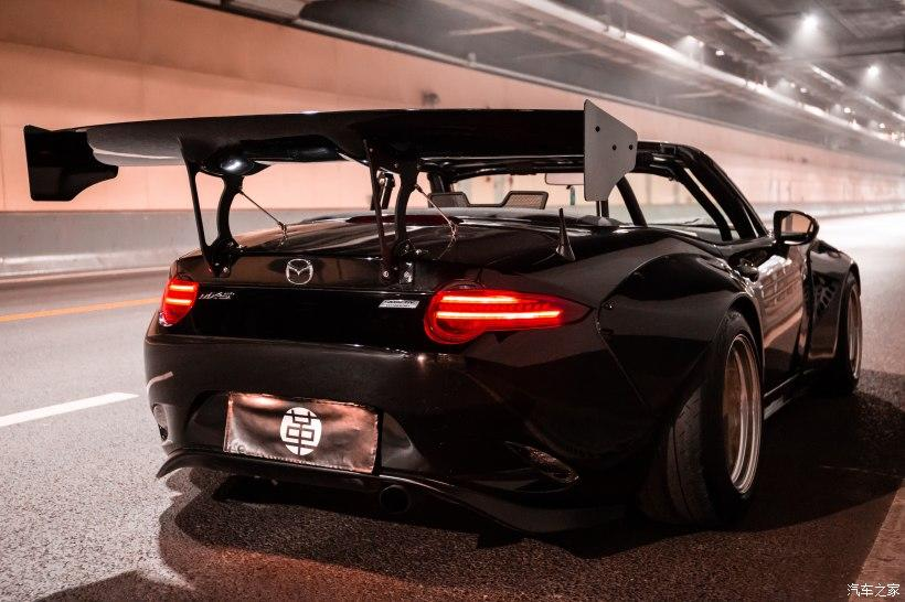 Mazda MX 5 ND Rocket Bunny Widebody Kit Heckfluegel Tuning 12 Mazda MX 5 (ND) mit Rocket Bunny Widebody Kit!