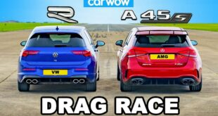 Mercedes AMG A45 vs. 2022 VW Golf R MK8 310x165 Video: Mercedes AMG A45 vs. 2022 VW Golf R (MK8)