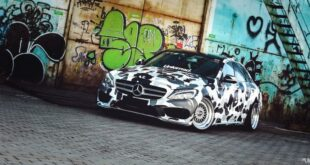 Mercedes C200L V205 Camouflage foiling Airrde Tuning Header 310x165 50 years ago: The Mercedes Benz SL of the R 107 series!