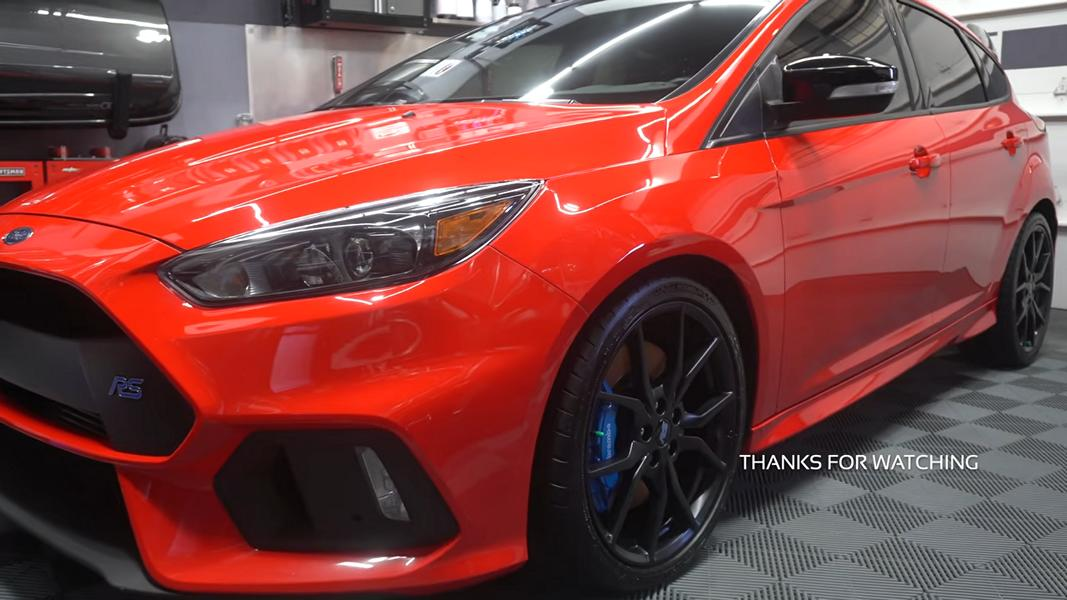 Mountune Ford Focus RS Aufbereitung Video: Saubere Sache   Mountune Ford Focus RS Aufbereitung!