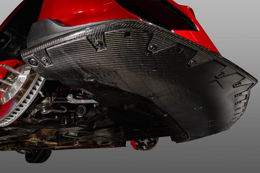 Mustang GT 500 Carbon Fiber Belly Pan 02 Shelby Mustang GT500 mit neuen Carbon Komponenten!