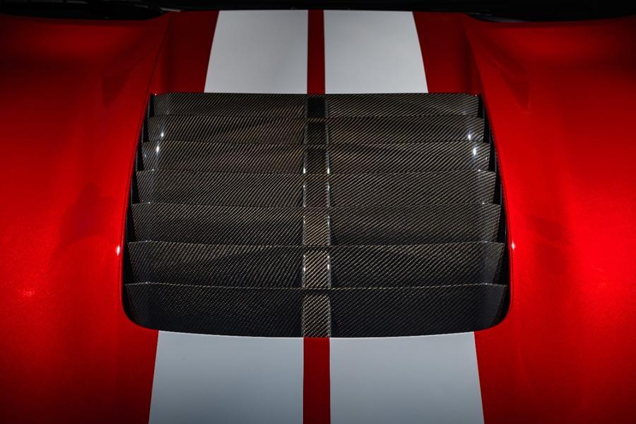 Mustang GT 500 Carbon Fiber Hood Vent 01 Shelby Mustang GT500 mit neuen Carbon Komponenten!