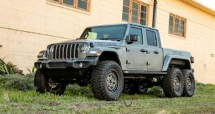 Next Level Jeep Gladiator 6x6 Umbau Tuning 16 310x165 Sechsradantrieb (fast) ab Werk: Jeep Gladiator 6x6 kommt bald!