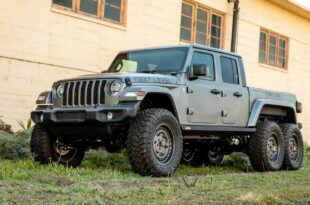 Next Level Jeep Gladiator 6x6 Umbau Tuning 16 310x205 Sechsradantrieb (fast) ab Werk: Jeep Gladiator 6x6 kommt bald!