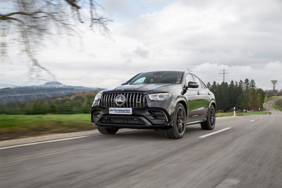Performmaster Mercedes GLE 63 S AMG Typ 167 Chiptuning 8 Performmaster Mercedes AMG GLE 63s mit 712 PS & 965 NM!