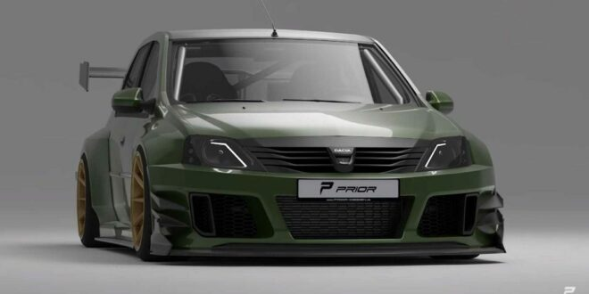 "Video: Prior-Design Dacia Logan mit ""mega Widebody-Kit""!"
