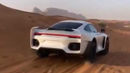 Project Sandbox Porsche 992 Turbo S 959 Dakar Inspired Gemballa Tuning 2 Video: Marc Gemballas Offroad Porsche 911 (992) Projekt!