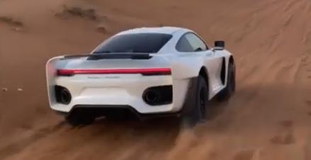 Project Sandbox Porsche 992 Turbo S 959 Dakar Inspired Gemballa Tuning 3 Video: Marc Gemballas Offroad Porsche 911 (992) Projekt!