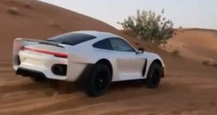 Project Sandbox Porsche 992 Turbo S 959 Dakar Inspired Gemballa Tuning 4 310x165 Video: Marc Gemballas Offroad Porsche 911 (992) Projekt!