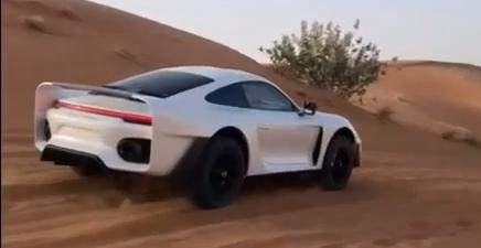 Project Sandbox Porsche 992 Turbo S 959 Dakar Inspired Gemballa Tuning 4 Video: Marc Gemballas Offroad Porsche 911 (992) Projekt!
