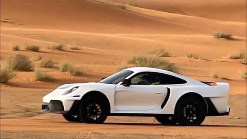 Project Sandbox Porsche 992 Turbo S 959 Dakar Inspired Gemballa Tuning 6 Video: Marc Gemballas Offroad Porsche 911 (992) Projekt!