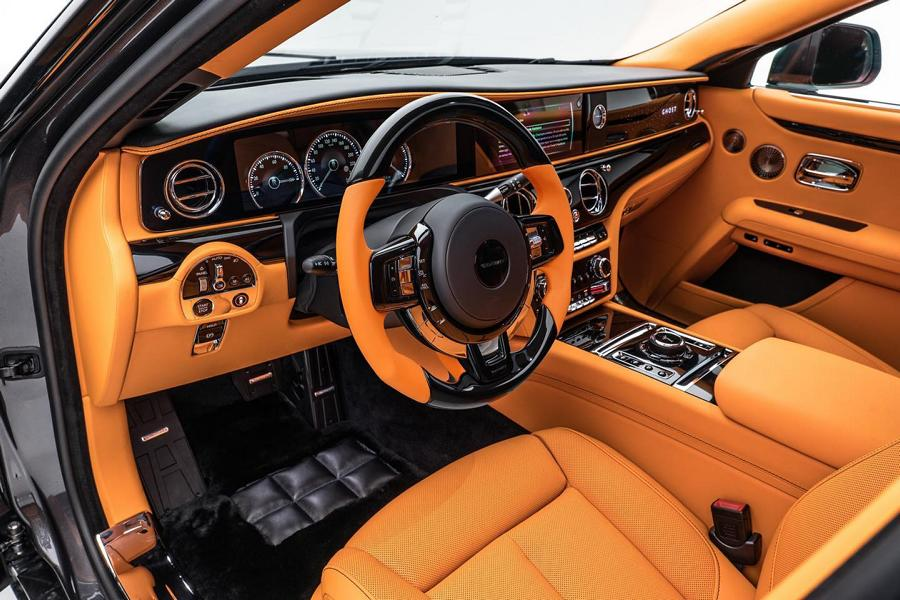 ROLLS ROYCE New GHOST Launch Edition Mansory Tuning 2 2021 Rolls Royce Ghost mit Gold Tuning von Mansory!