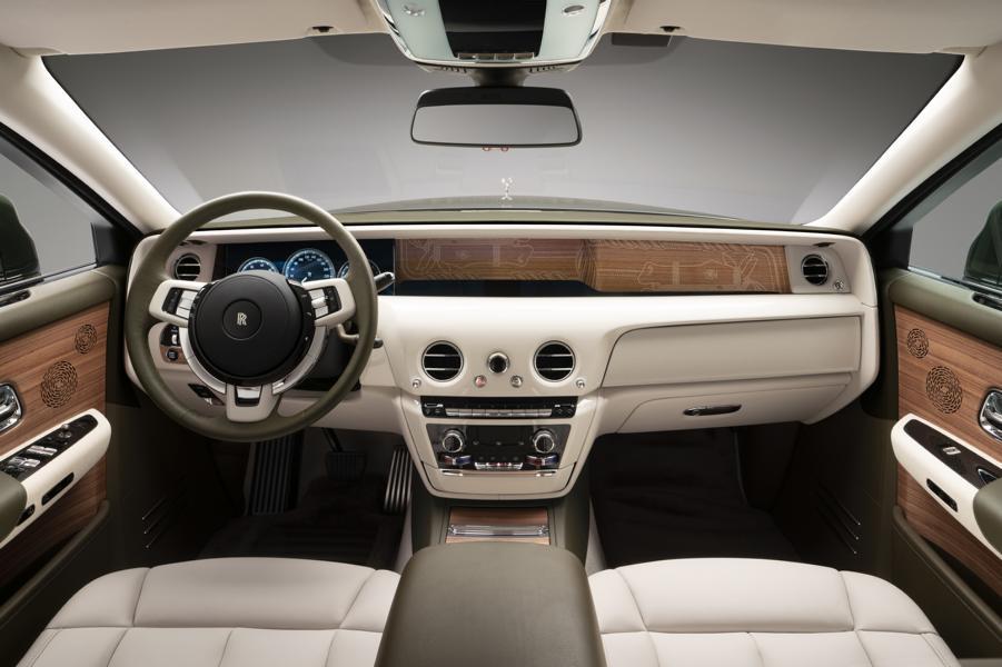Rolls Royce Phantom Oribe Hermes Bespoke 23 Rolls Royce Phantom Oribe: Hermès Projekt by Bespoke!