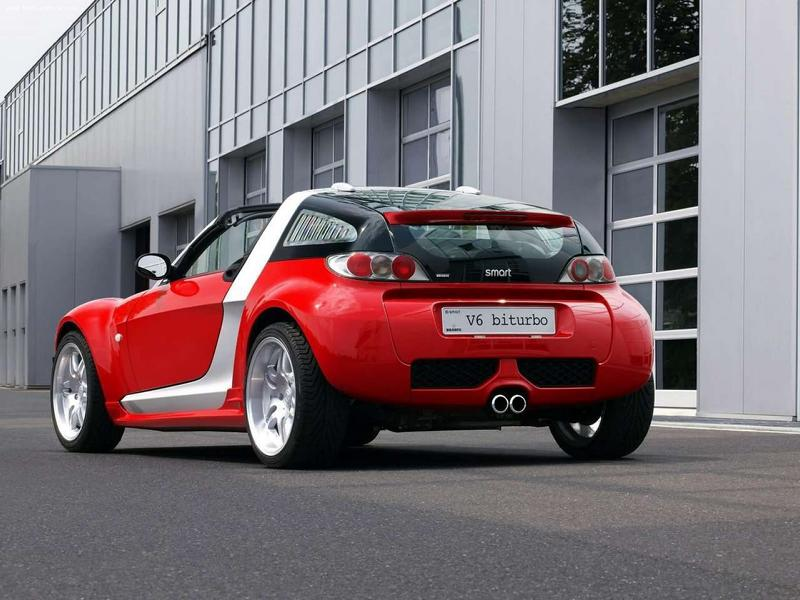 Smart Roadster Brabus V6 Biturbo Limited 11 Tuning Klassiker: Smart Roadster Brabus V6 Biturbo!