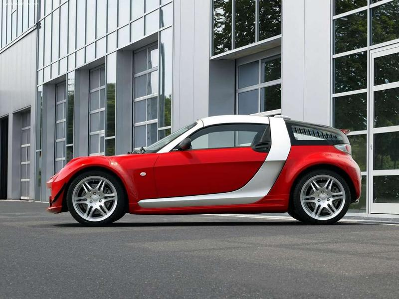 Smart Roadster Brabus V6 Biturbo Limited 6 Tuning Klassiker: Smart Roadster Brabus V6 Biturbo!